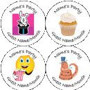 Childrens Party Badges
