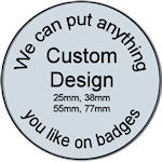 Custom Design Badges