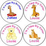 New Big Brother/Sister Badges