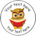 Personalised School Owl Reading Badge