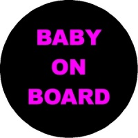 Personalised custom badge Baby on Board pregancy mum to be
