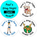 Stag Night Badges